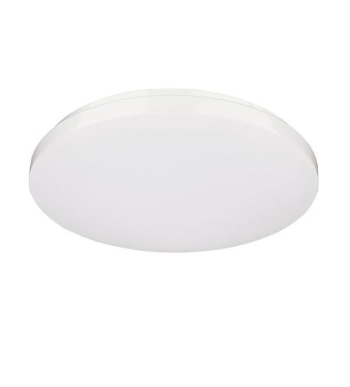 Mercator Franklin LED Oyster Ceiling Light 18W Cool White 5000K - White